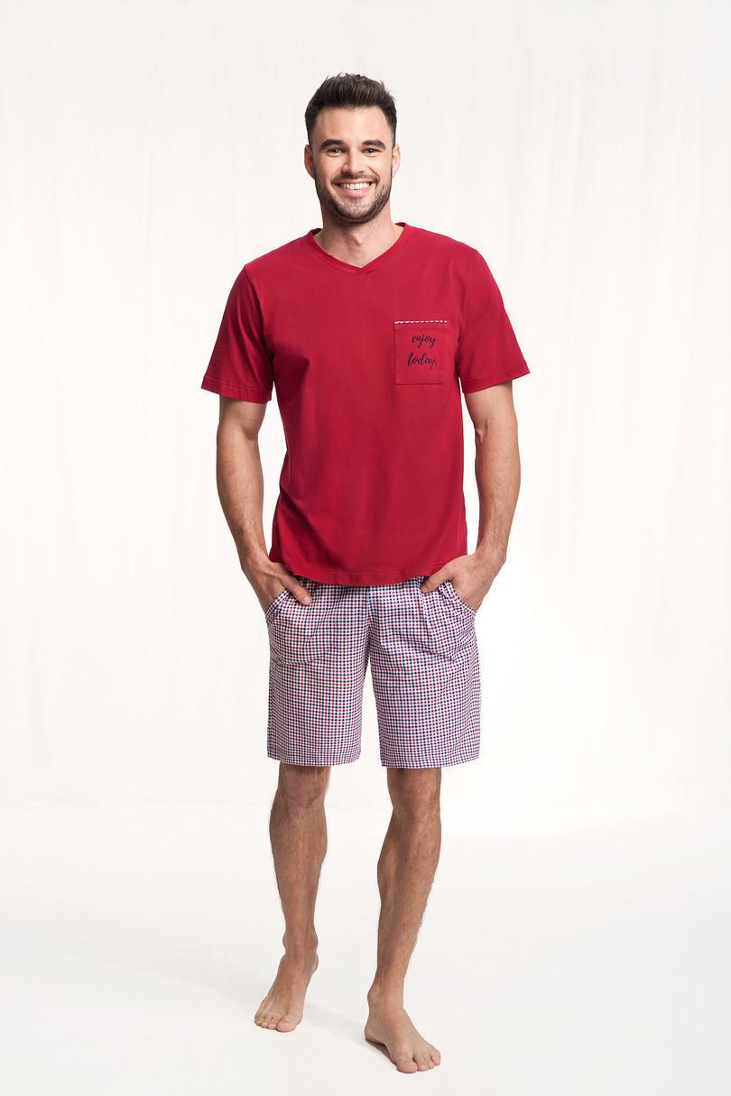 Pánske pyžamo 787 bordó M