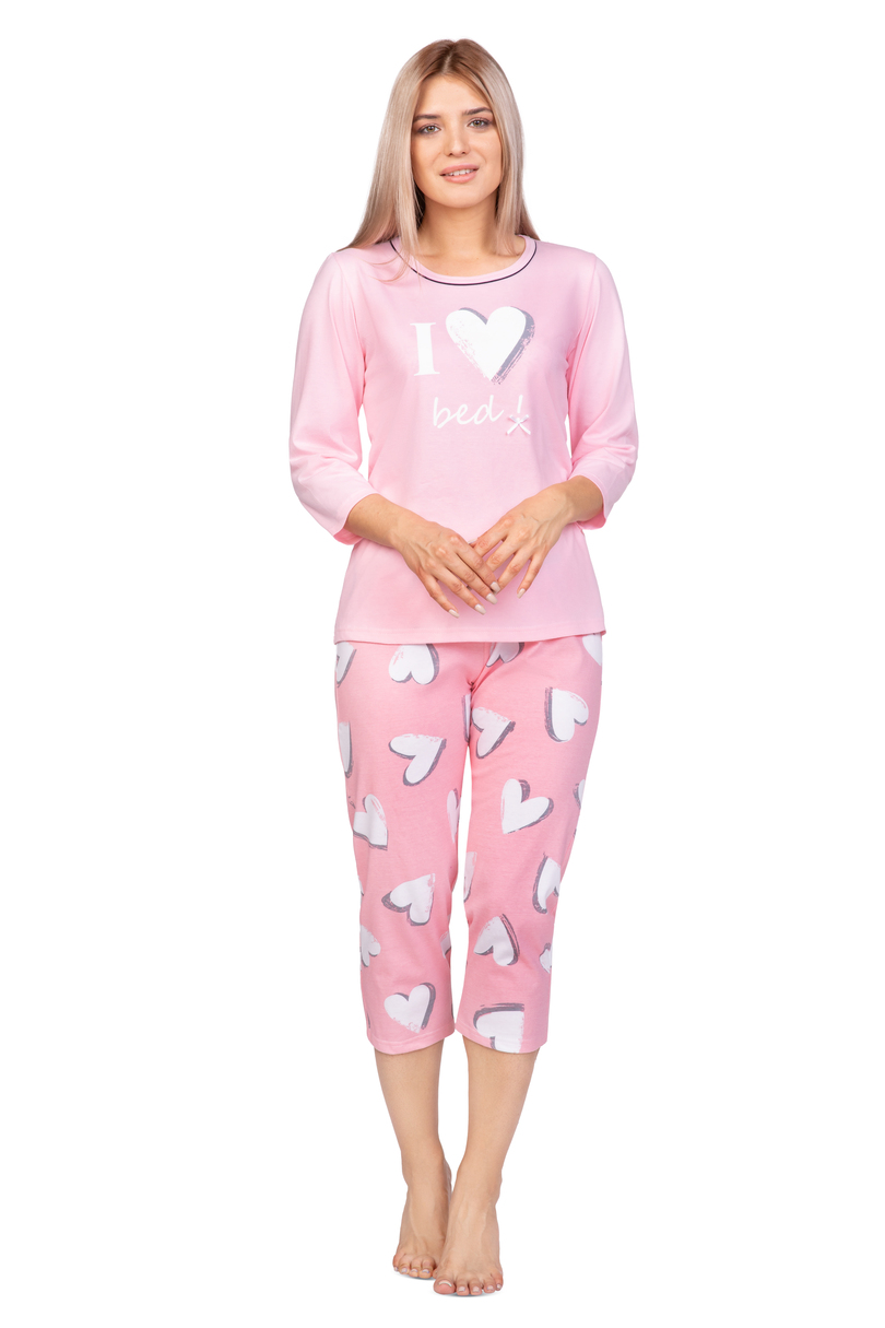 Dámske pyžamo 973 Růžová XL