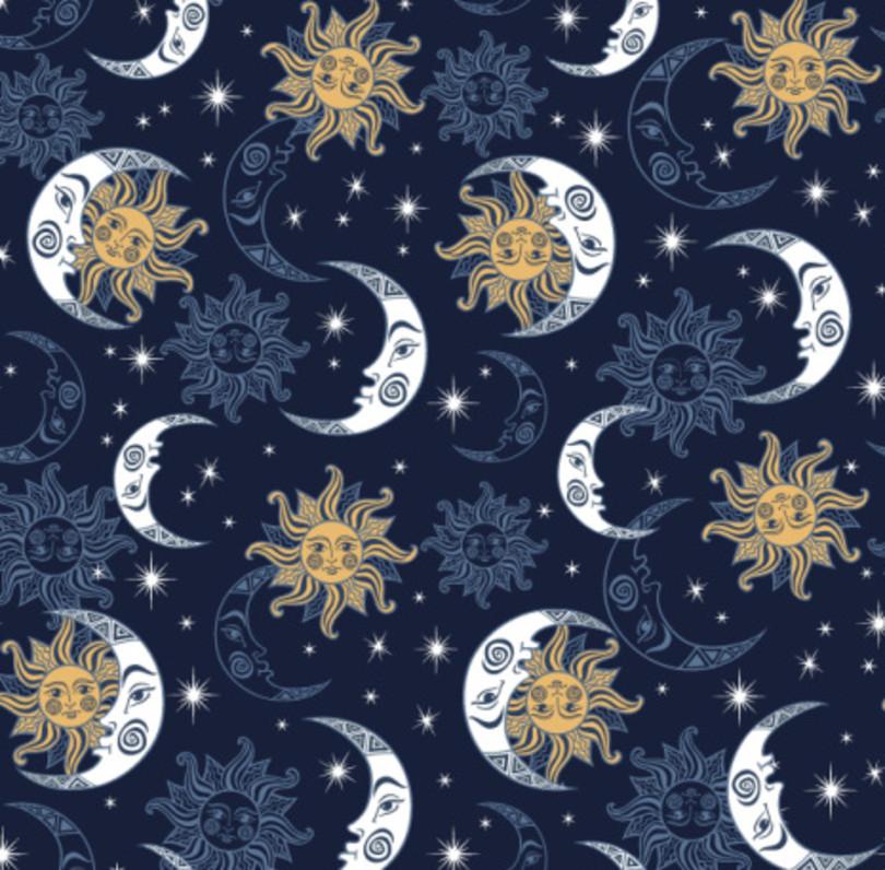 Dámske pyžamové nohavice 992 tmavě modrá XXL