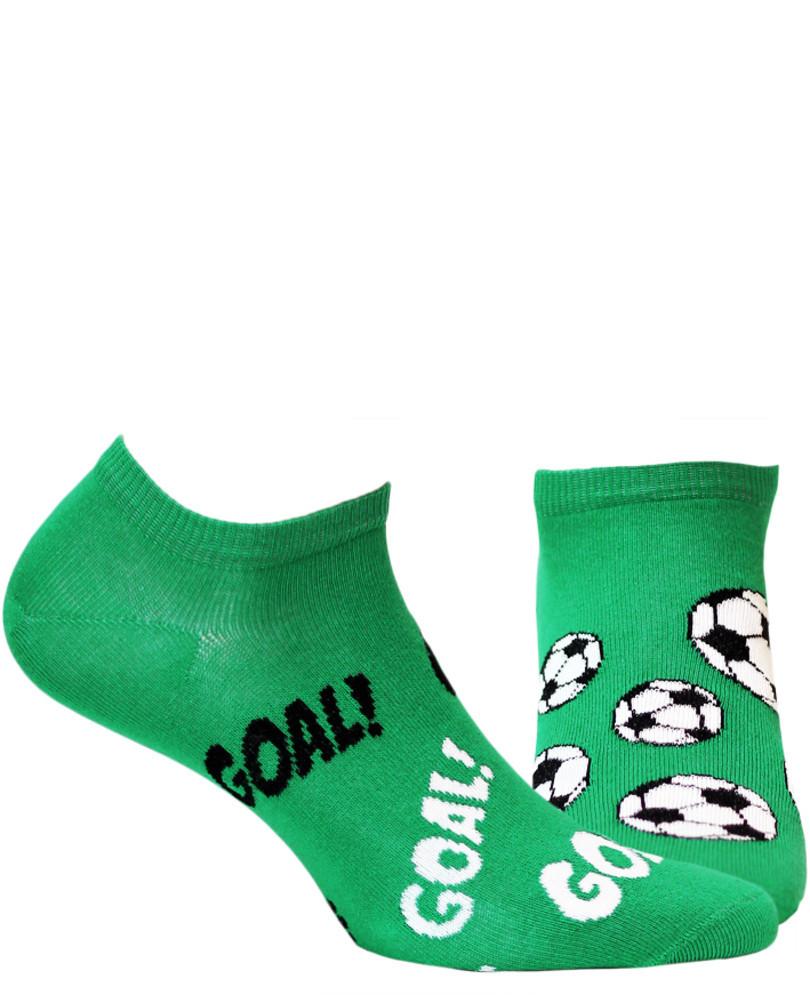 Vzorované ponožky FUNKY zelená 39/42
