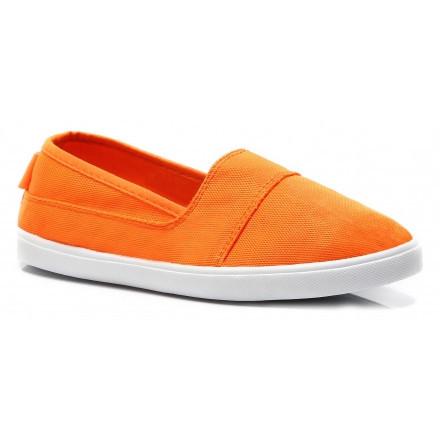Jednoduché oranžové dásmké slip on 40