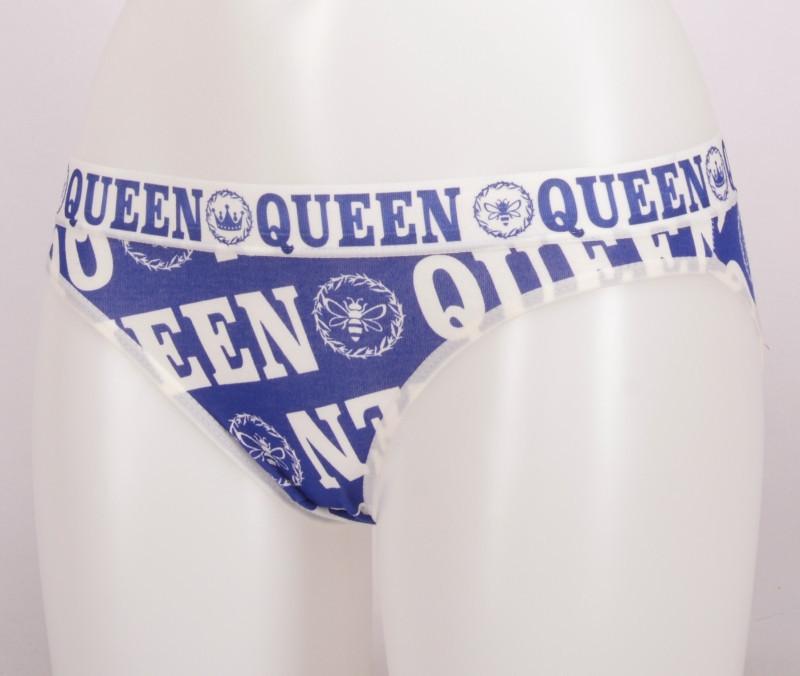 Dámské kalhotky Little queen tmavě modrá XL