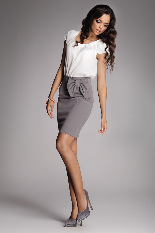 Klasické sukně model 10140 Figl XXL