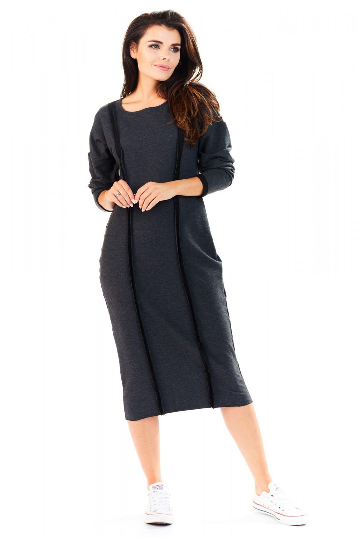 Denní šaty model 103630 awama Velikost: 36