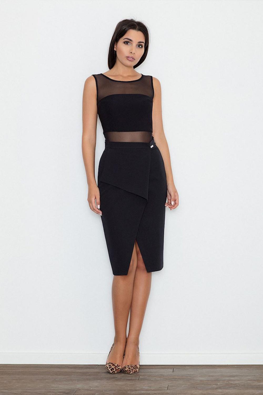 Klasická sukně model 111095 Figl XL