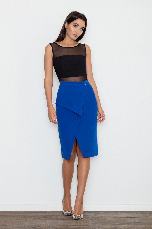 Klasická sukně model 111096 Figl XL