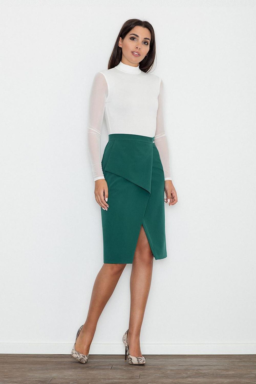 Klasická sukně model 111097 Figl XL
