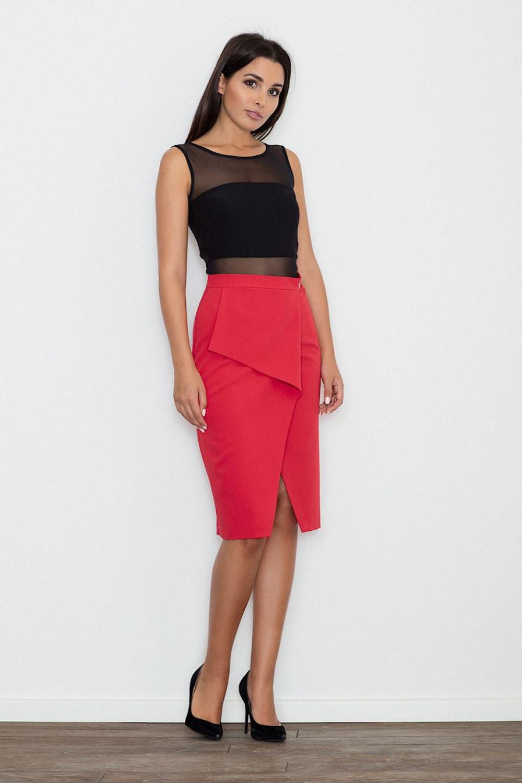Klasická sukně model 111098 Figl XL