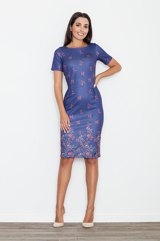 Denní šaty model 111153 Figl L
