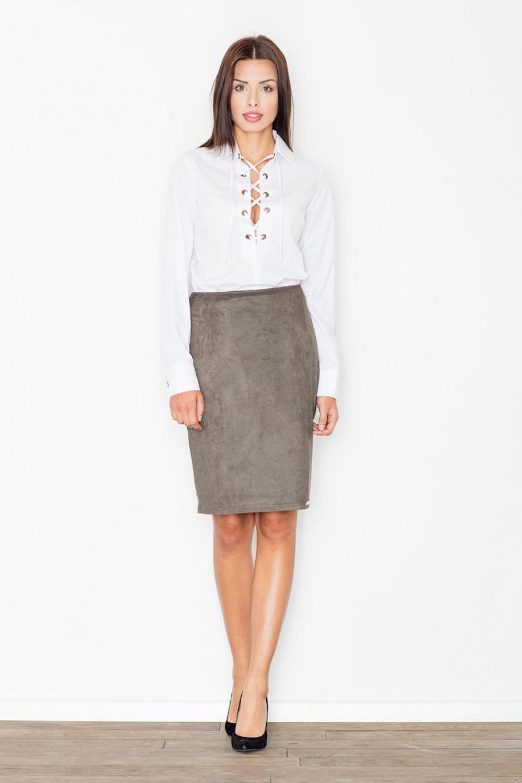 Klasická sukně model 111505 Figl XL