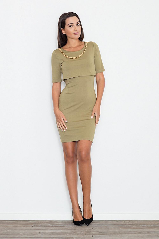 Denní šaty model 111515 Figl M