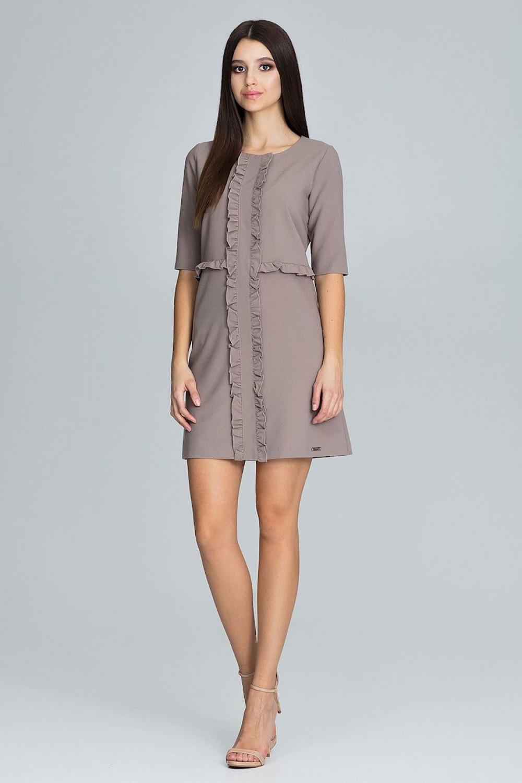 Společenské šaty model 116231 Figl XL