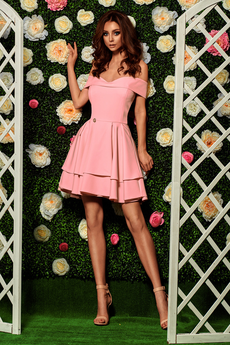 Společenské šaty model 116830 Lemoniade S