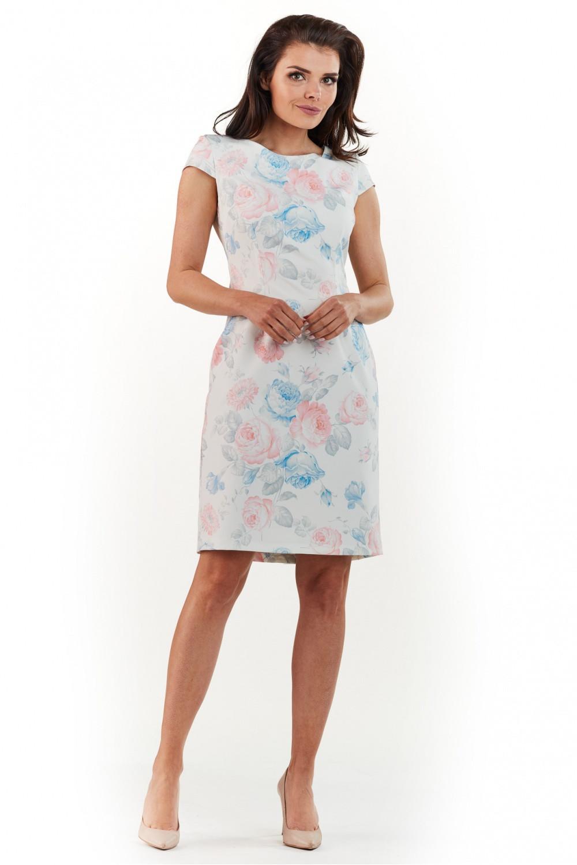 Denní šaty model 117519 awama Velikost: 42