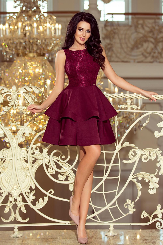 Večerní šaty model 123489 Numoco M
