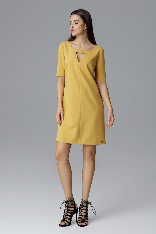 Denní šaty model 126010 Figl XL