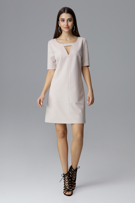 Denní šaty model 126011 Figl L