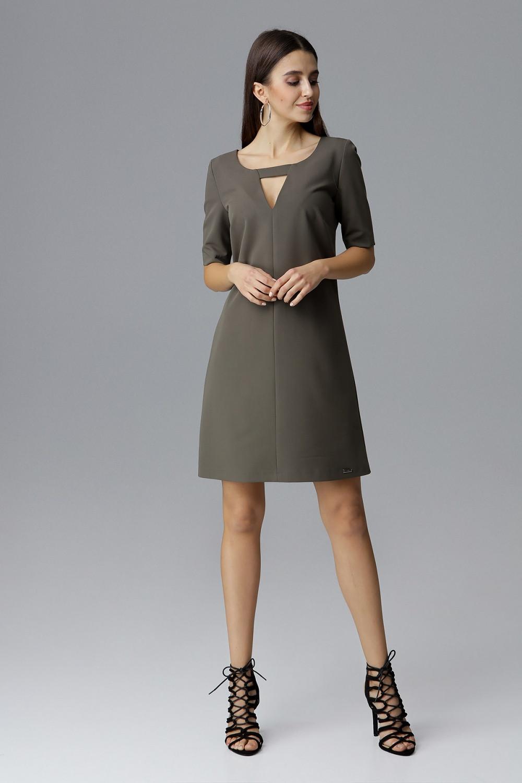 Denní šaty model 126013 Figl XL