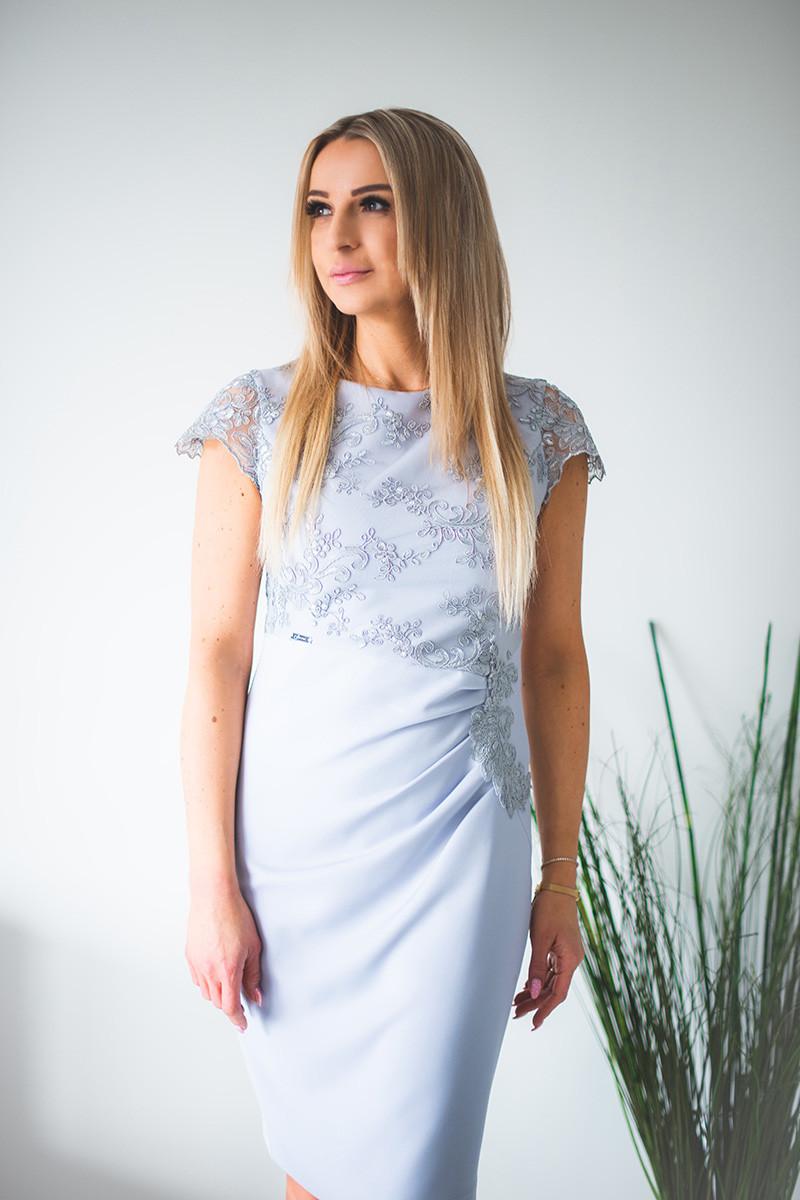 Spoločenské šaty model 131417 jers 46