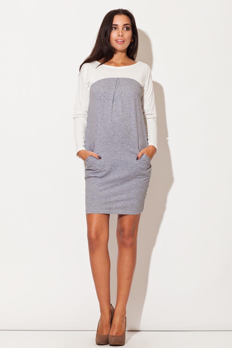 Denní šaty model 44006 Katrus S