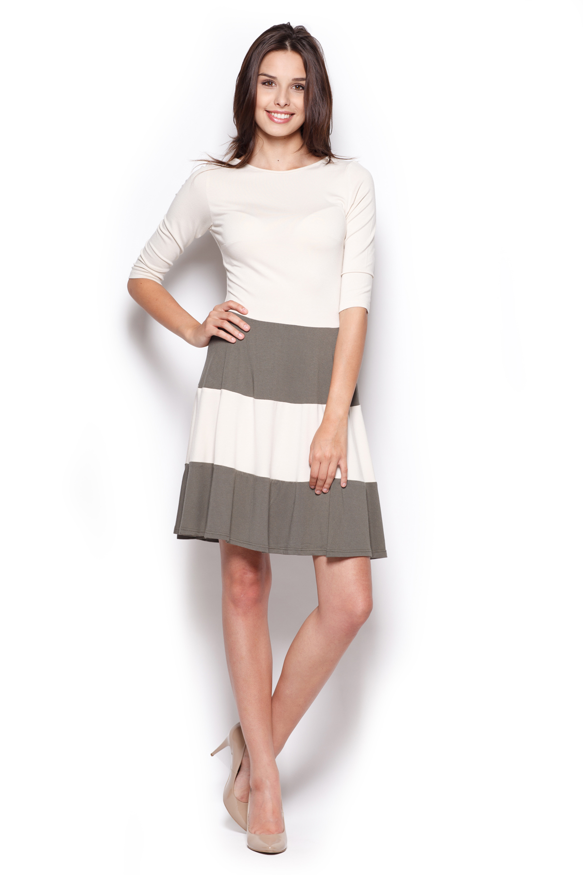 Denní šaty model 44281 Figl XL