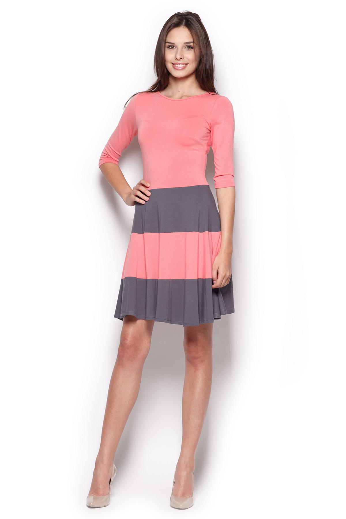 Denní šaty model 44282 Figl XL