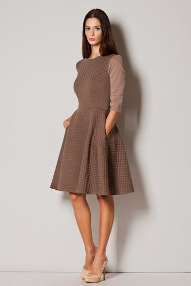 Denní šaty model 44497 Figl XL