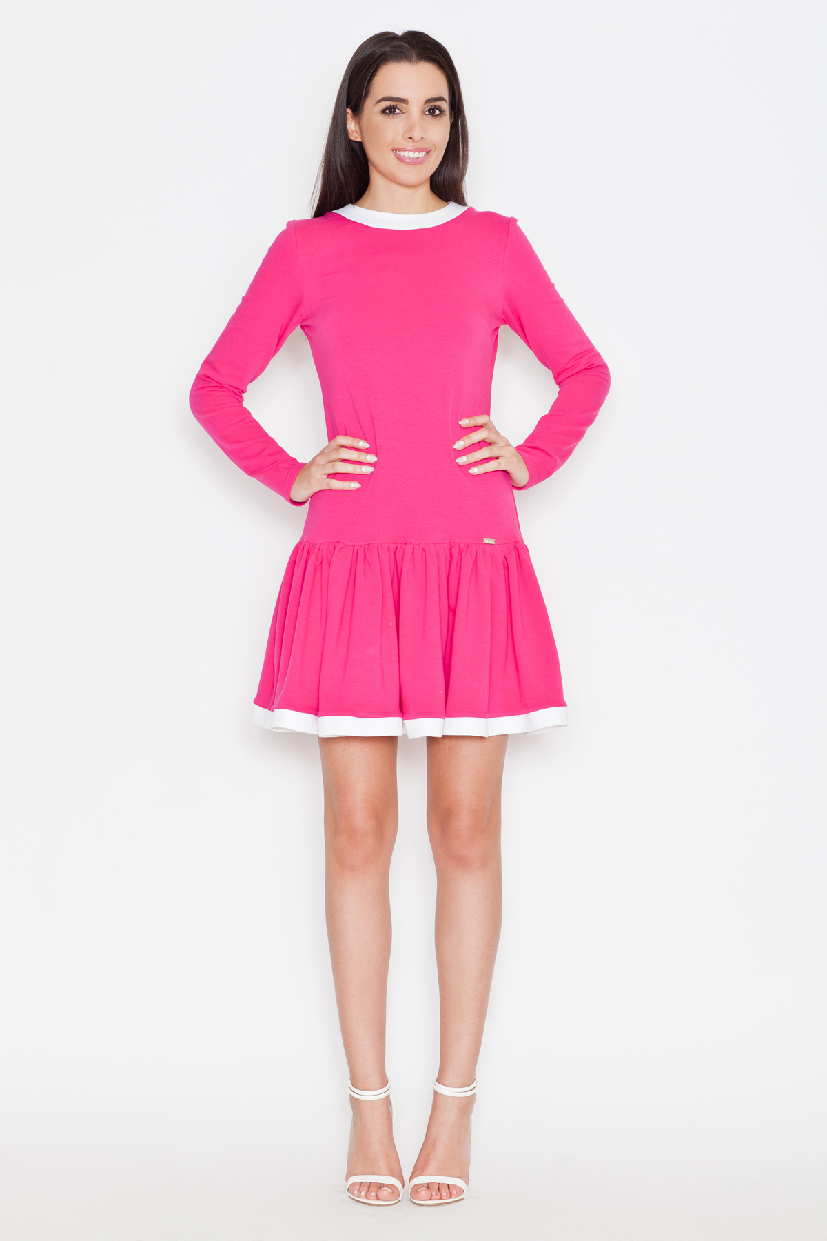 Denní šaty model 44710 Katrus L