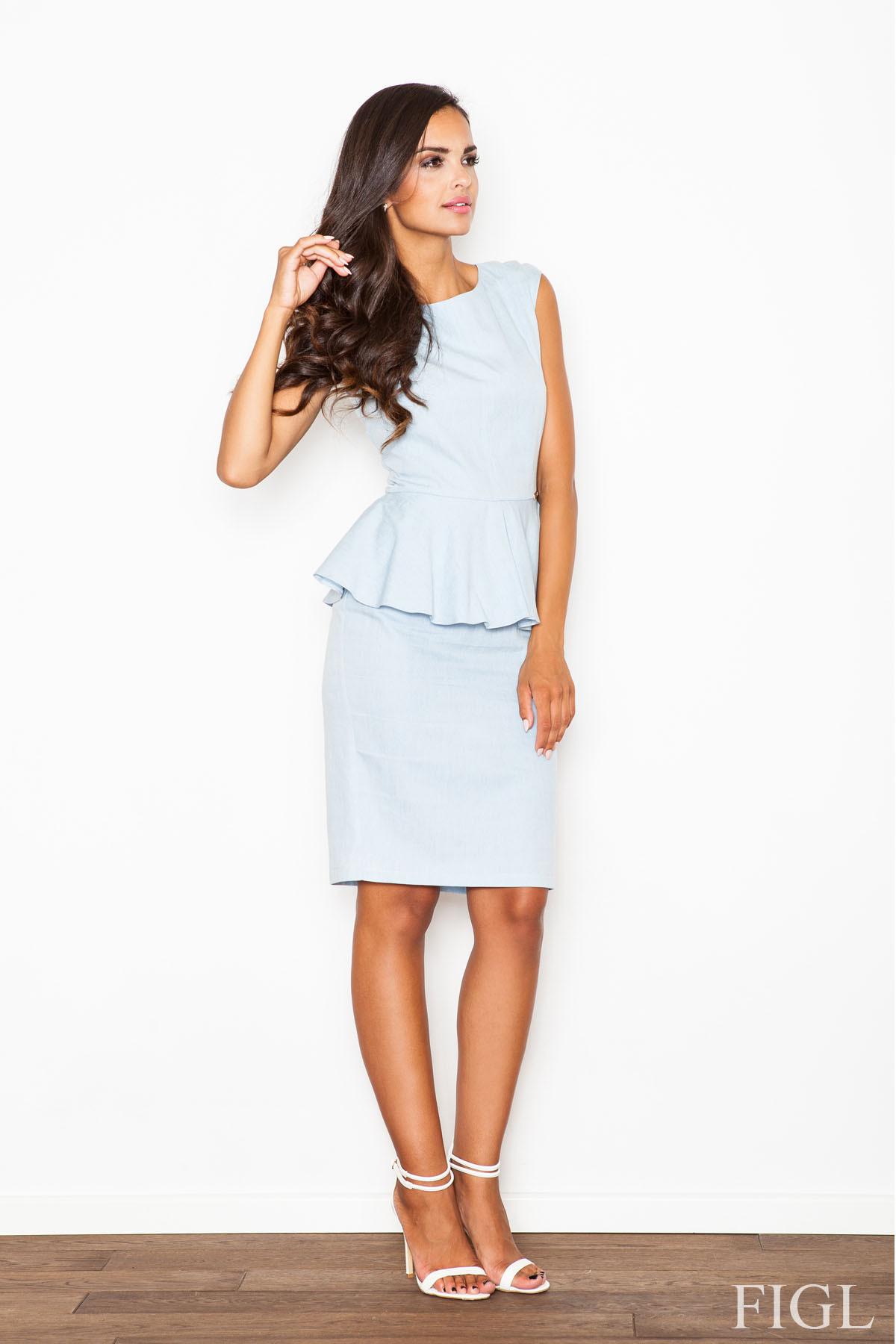 Denní šaty model 46851 Figl XL