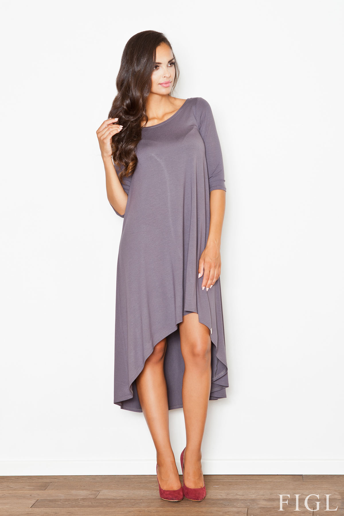 Denní šaty model 48277 Figl XL