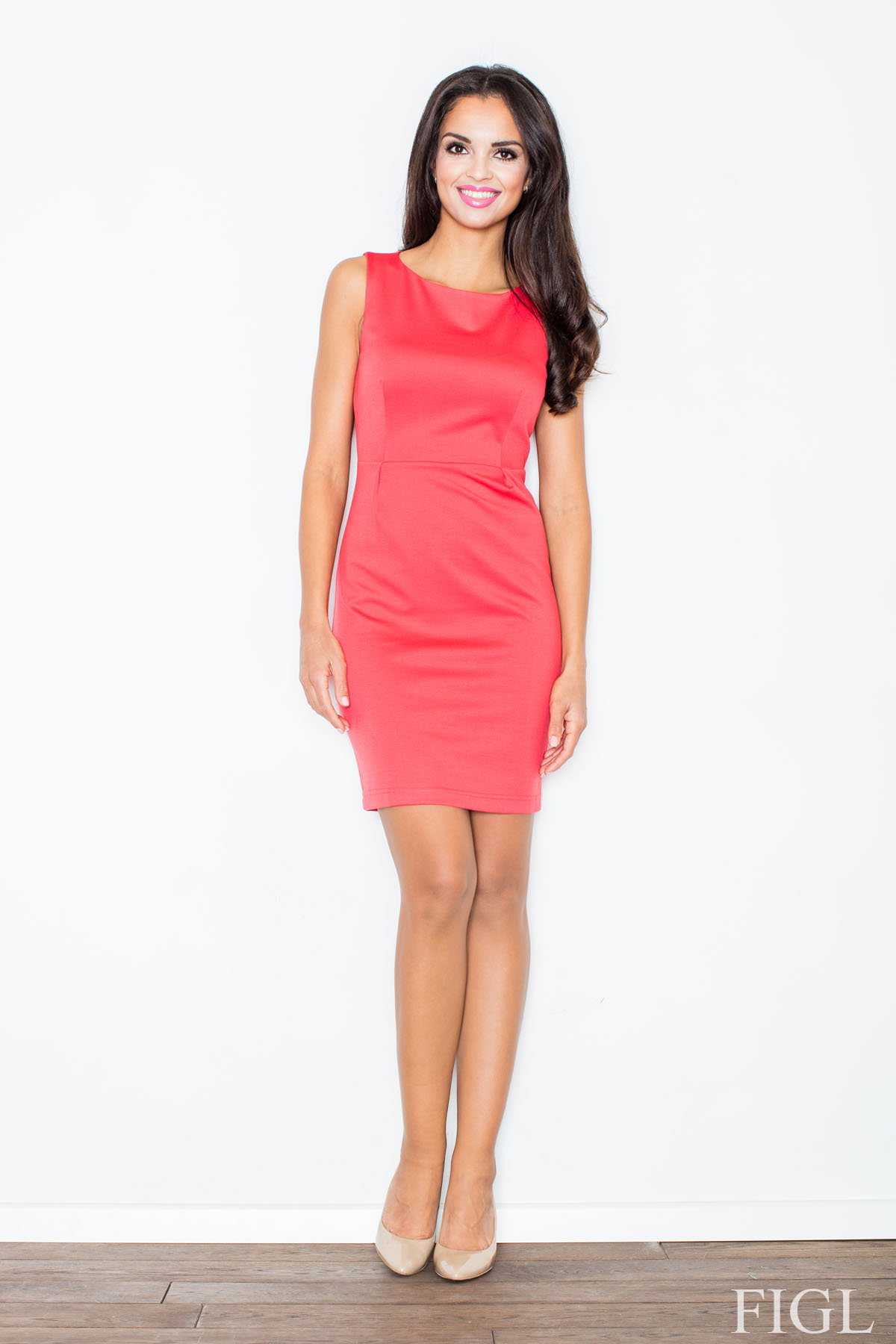 Denní šaty model 49935 Figl S