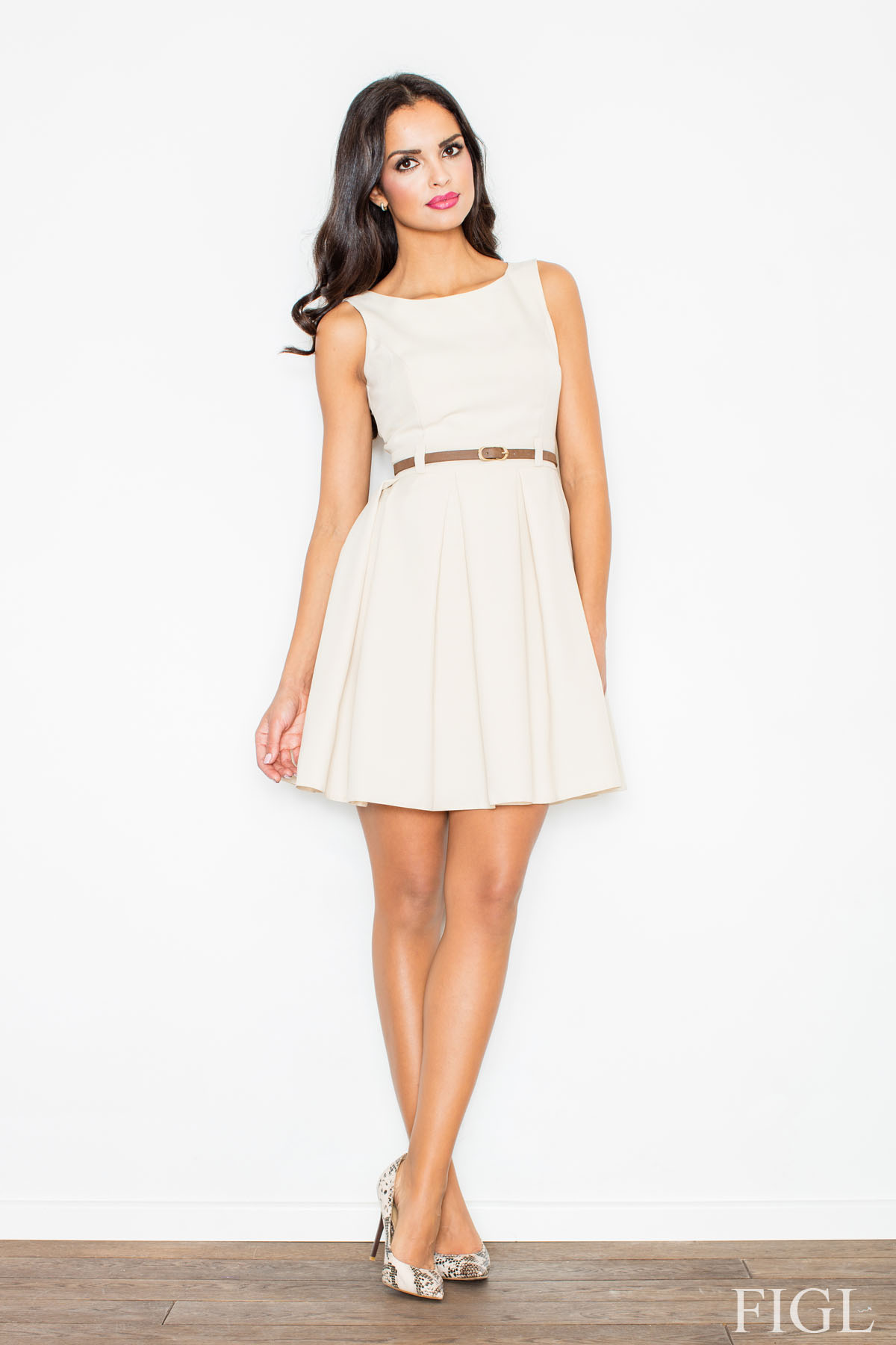 Denní šaty model 49937 Figl L