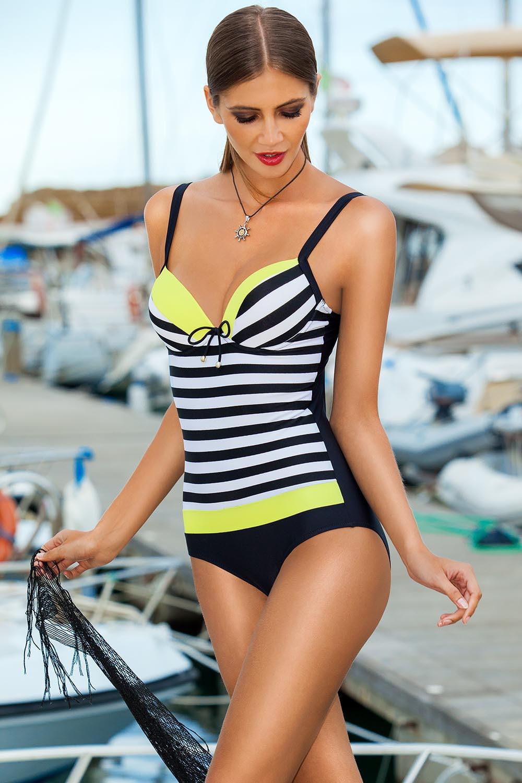 Jednodílné plavky model 56646 Ewlon 44