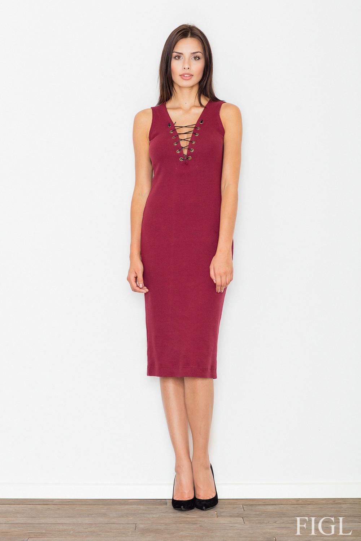 Večerní šaty model 62654 Figl L/XL