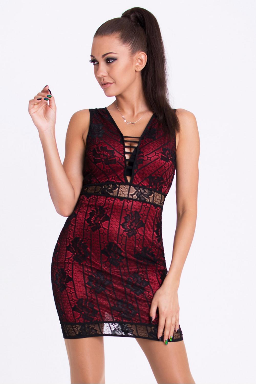 Krátké šaty model 62670 YourNewStyle L