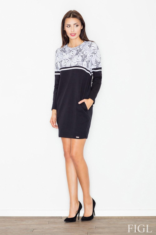 Denní šaty model 62977 Figl XL