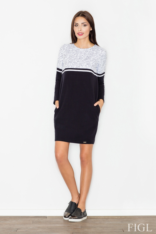 Denní šaty model 62978 Figl XL