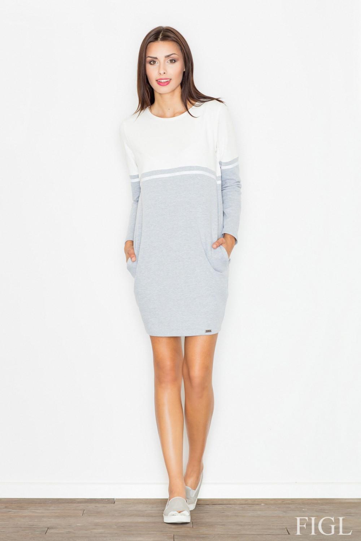 Denní šaty model 62979 Figl XL