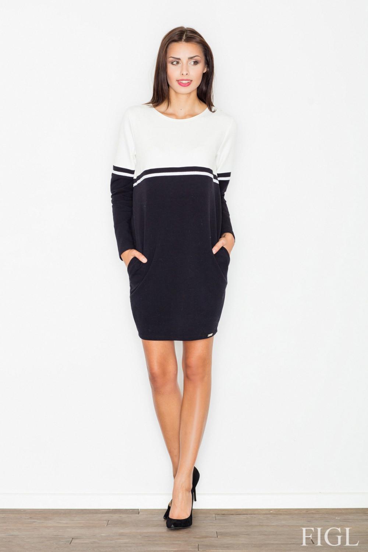 Denní šaty model 62980 Figl S