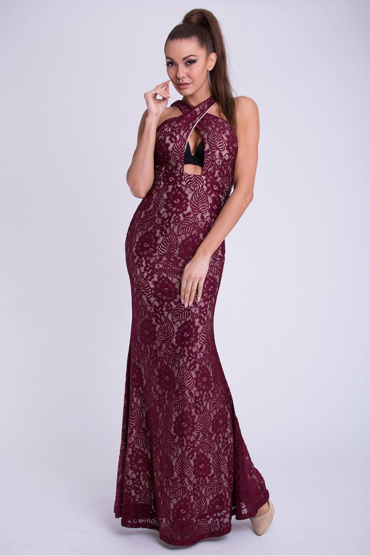Dlouhé šaty model 69401 YourNewStyle L