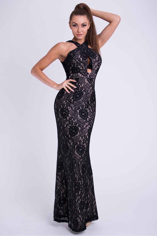 Dlouhé šaty model 69403 YourNewStyle S