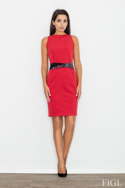 Denní šaty model 77062 Figl XL