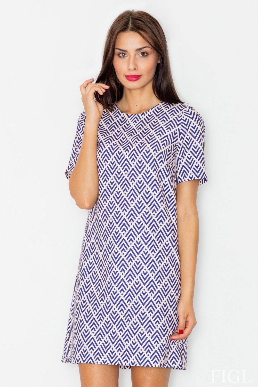 Denní šaty model 77081 Figl L