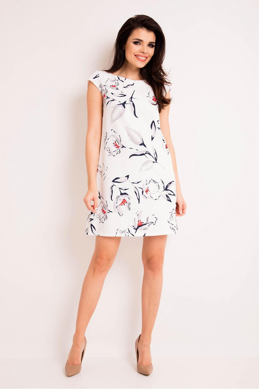 Denní šaty model 80444 awama Velikost: 36