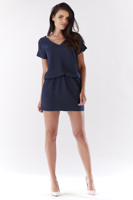 Denní šaty model 90521 awama 36/38