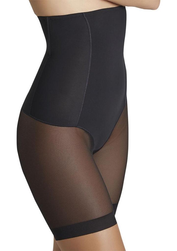 Dámske sťahovacie nohavice Ysabelmora 19612 L čierna