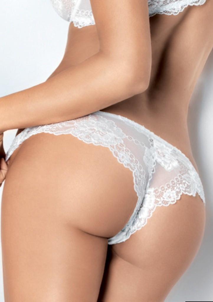 Dámské kalhotky brazilky Lormar Prestige XL Myclass-ořech