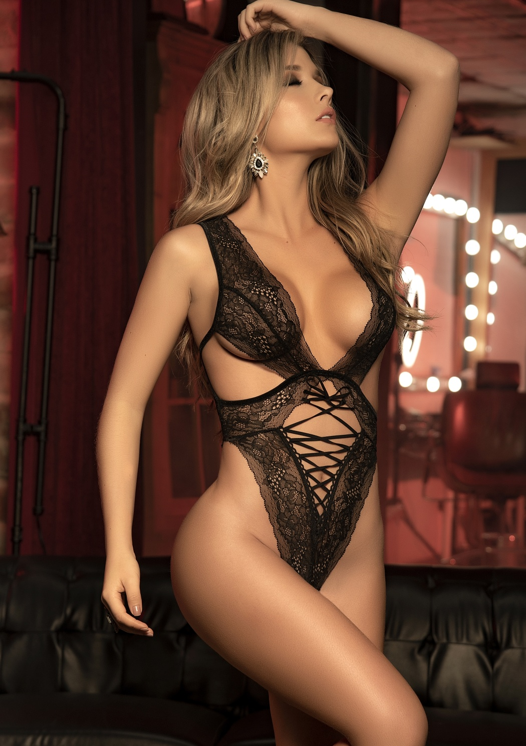 Sexy body MAPAL 7303 S čierna