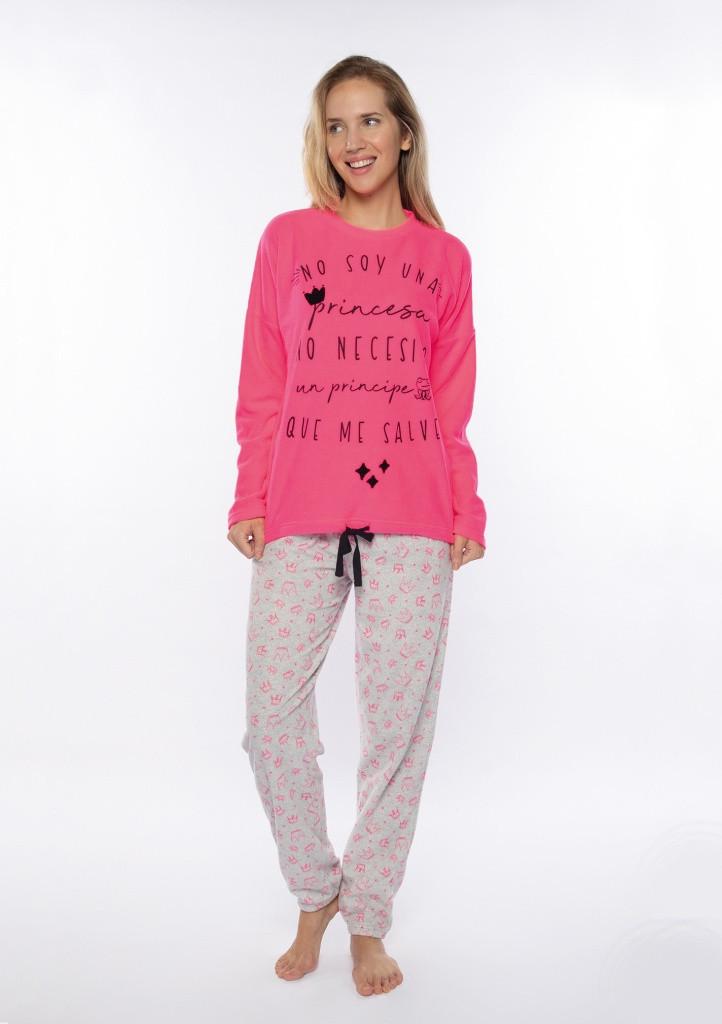 Dámske pyžamo Muydemi 210207 XXL RůžováP