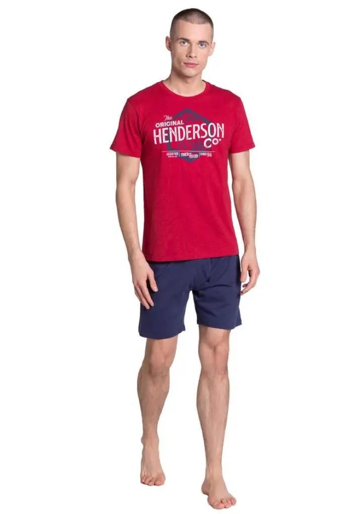 Pánske pyžamo Henderson 38869 M červená